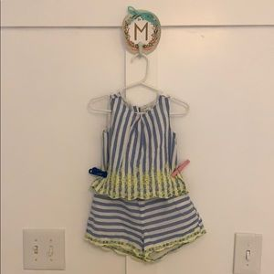 Striped two piece set from baby gap